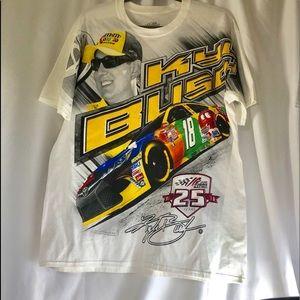 Kyle Bush Joe Gibbs Racing New T-shirt L NASCAR